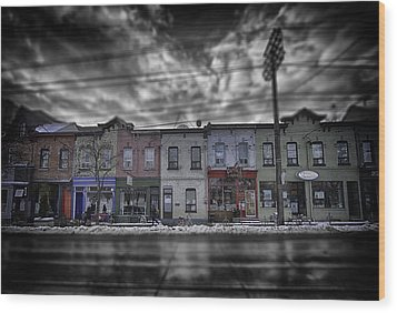 Wood Print featuring the photograph The Answers You Seek Will Never Be Found At Home by Russell Styles