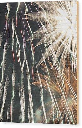The Apocalypse Wood Print by Linda Steele