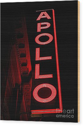The Apollo Wood Print by Ed Weidman
