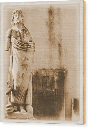 Wood Print featuring the photograph The Apostle by Nadalyn Larsen
