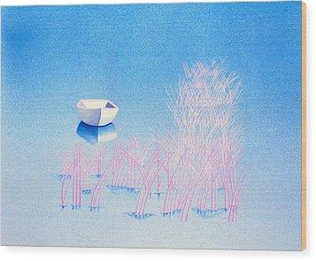 The Arrival Wood Print by Daniele Zambardi