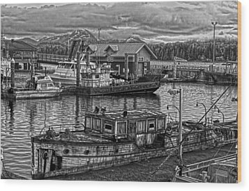 The Avirilla Wood Print by Timothy Latta