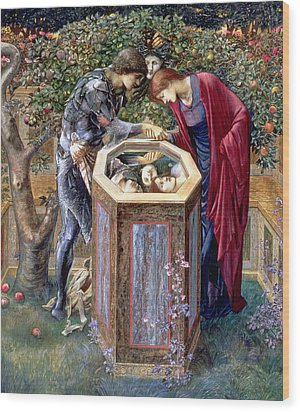The Baleful Head, C.1876 Wood Print by Sir Edward Coley Burne-Jones