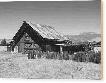 The Barn Wood Print by Glenn McCarthy Art and Photography