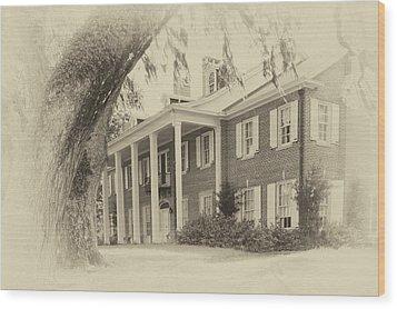 The Baruch House Wood Print