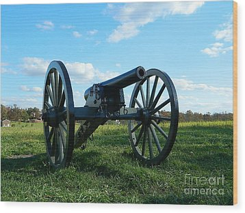 Wood Print featuring the photograph The Battle Is Over - Gettysburg by Emmy Marie Vickers