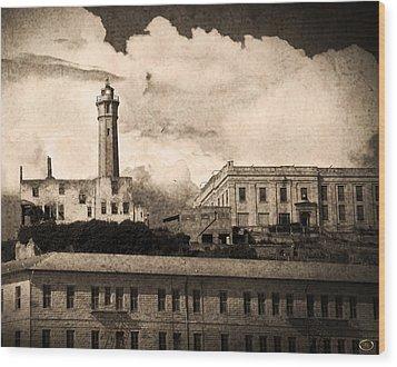 The Beacon Wood Print