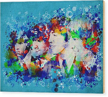 The Beatles 6 Wood Print