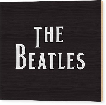 The Beatles Wood Print by Marvin Blaine