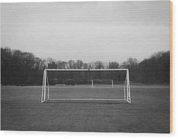 The Beautiful Game Wood Print by Richie Stewart