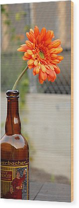 Wood Print featuring the photograph The Beer Garden by Lena Wilhite