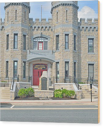The Bel Air Maryland Armory 2 Wood Print
