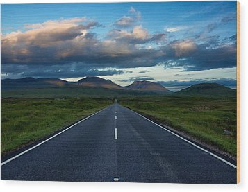 Wood Print featuring the photograph The Best Drive...ever... by Stephen Taylor