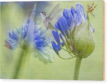 The Best Way To Keep Love Is To Give It Wings Wood Print by Bonnie Barry