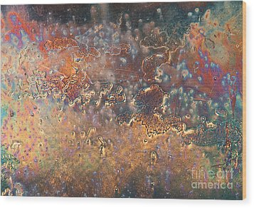 The Big Bang Abstract Wood Print