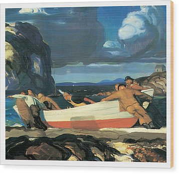 The Big Dory Wood Print by George Bellows