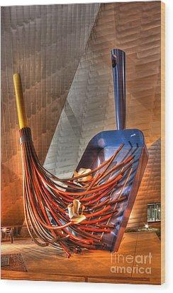 The Big Sweep Wood Print by David Bearden