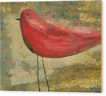 The Bird - K03b Wood Print