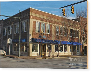 The Birthplace Of Pepsi - Cola Wood Print by Bob Sample