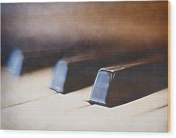 The Black Keys Wood Print by Scott Norris