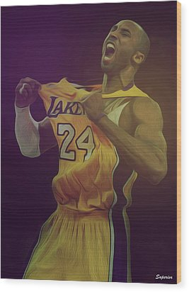 The Black Mamba Wood Print by Superior Designs