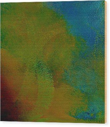 The Blend Wood Print by Lisa Kaiser