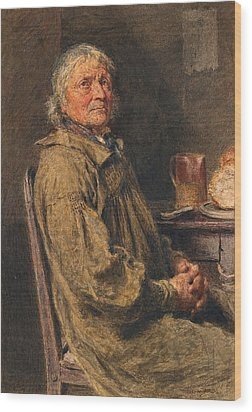 The Blessing Wood Print by William Henry Hunt