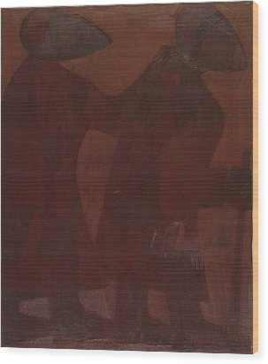 The Blind Men Wood Print