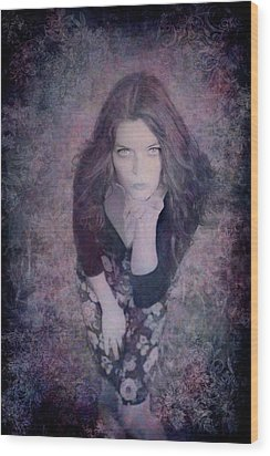 The Blown Kiss Wood Print by Loriental Photography