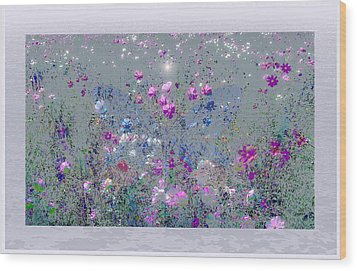 The Blue Butterfly Wood Print by Harald Dastis