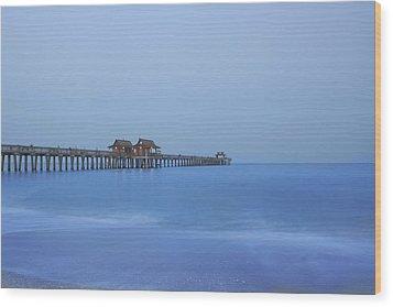 The Blue Hour Wood Print by Kim Hojnacki