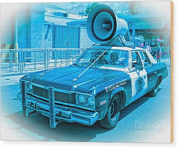 The Blues Brothers Wood Print by Edward Fielding