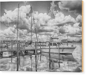 Wood Print featuring the photograph The Boat by Howard Salmon