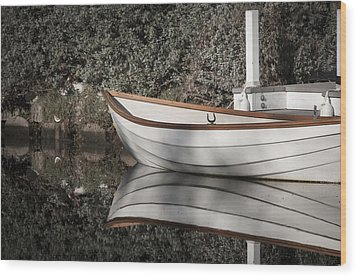 Wood Print featuring the photograph The Boat Narcissus by Kevin Bergen