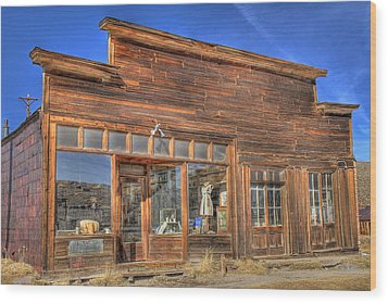 The Boone Store And Warehouse Wood Print by Donna Kennedy