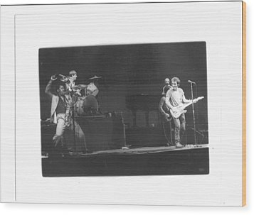 The Boss And Clarence 2 Wood Print by Bc Adamkowski