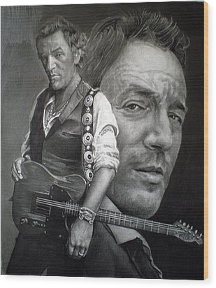 The Boss Wood Print by Raoul Alburg