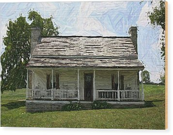 The Bottom House II - Perryville Ky Wood Print by Thia Stover