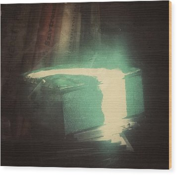 Wood Print featuring the photograph The Box For Wishes  by Steven Huszar