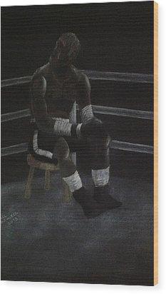 The Boxer 2013 Wood Print by Carl Frankel
