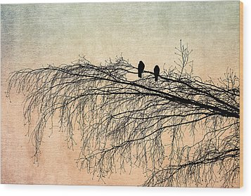 The Branch Of Reconciliation 2 Wood Print by Alexander Senin