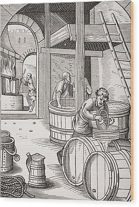 The Brewer Wood Print by French School