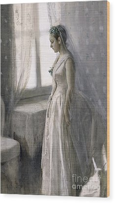 The Bride Wood Print by Anders Leonard Zorn