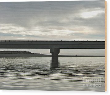 Wood Print featuring the photograph The Bridge by Paul Foutz