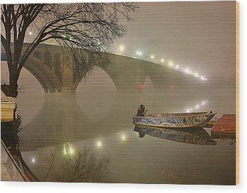 The Bridge To Nowhere Wood Print