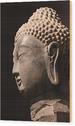Wood Print featuring the photograph The Buddha 2 by Lynn Sprowl