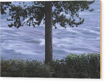 The Bulkley River Wood Print