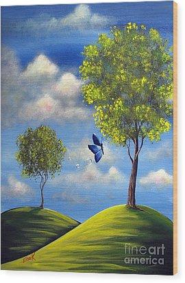 The Call Of Spring By Shawna Erback Wood Print by Shawna Erback