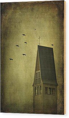 The Calling Wood Print by Evelina Kremsdorf