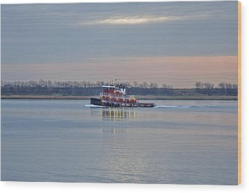 The Cape May Wood Print by Donnie Smith